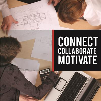 Connect. Collaborate. Motivate Alumni Square 3